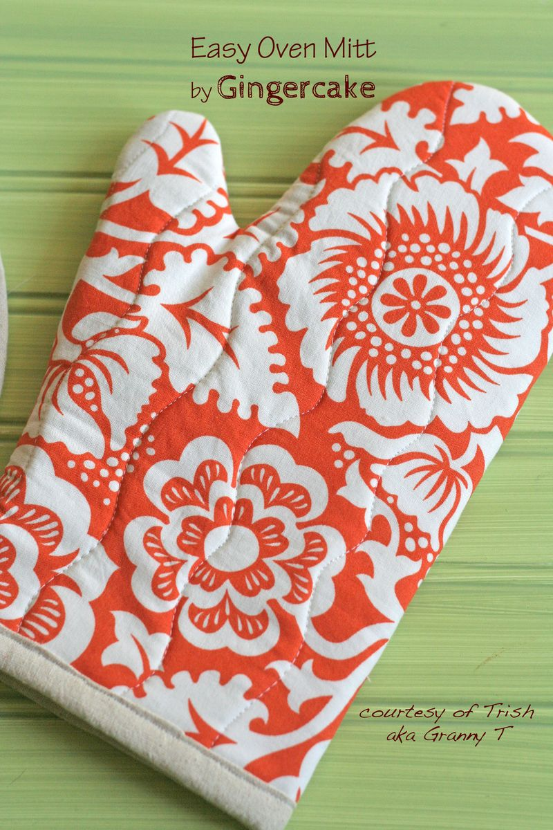 Easy oven mitt diy