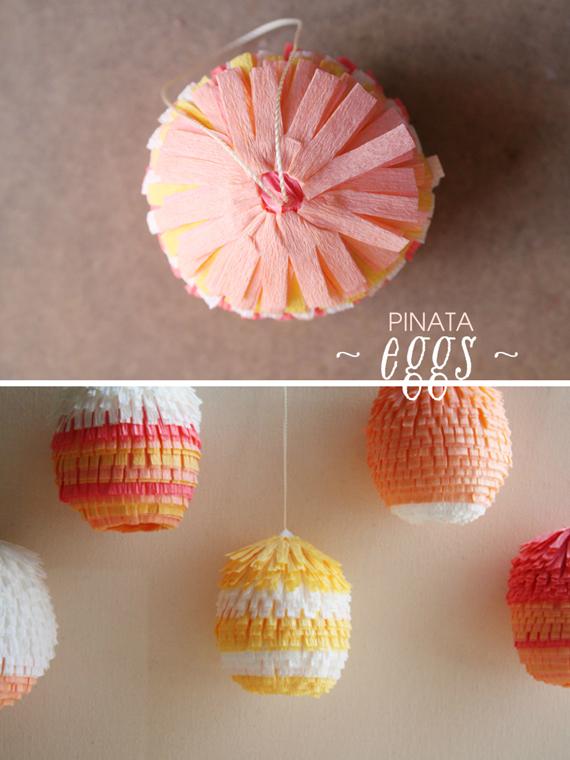 Egg pinatas