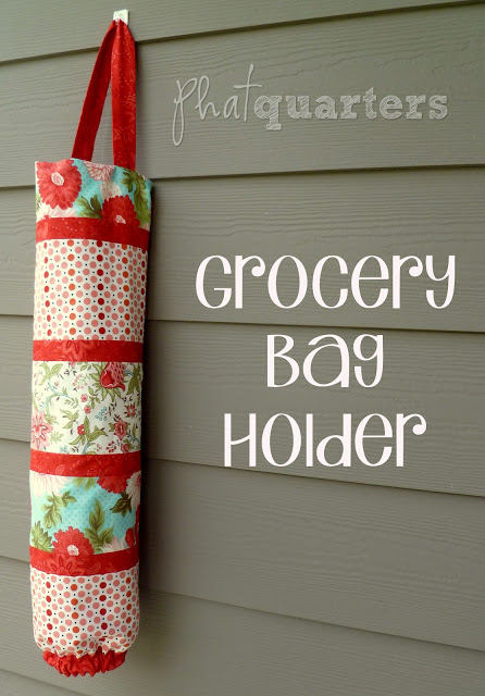 Grocery bag holder diy