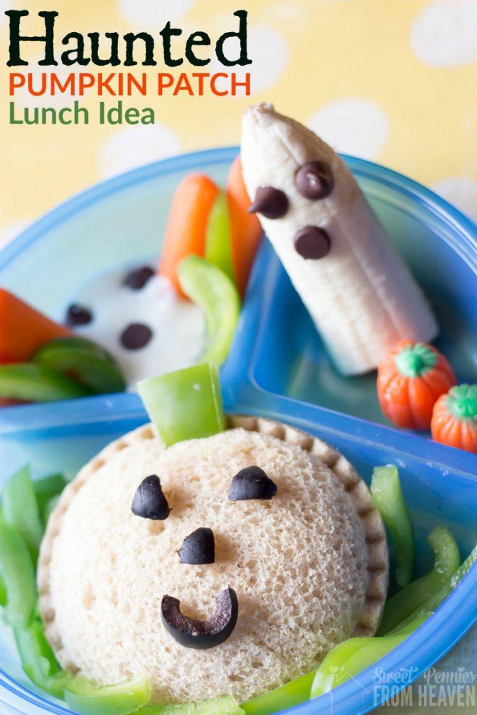 Haunted pumpkin patch lunch