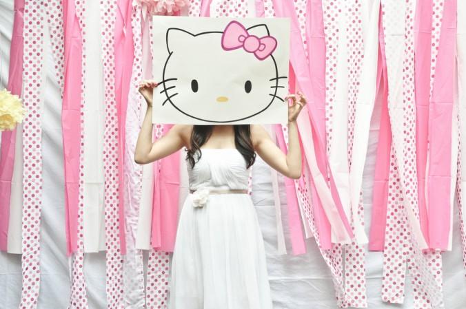 Hello kitty bridal shower theme
