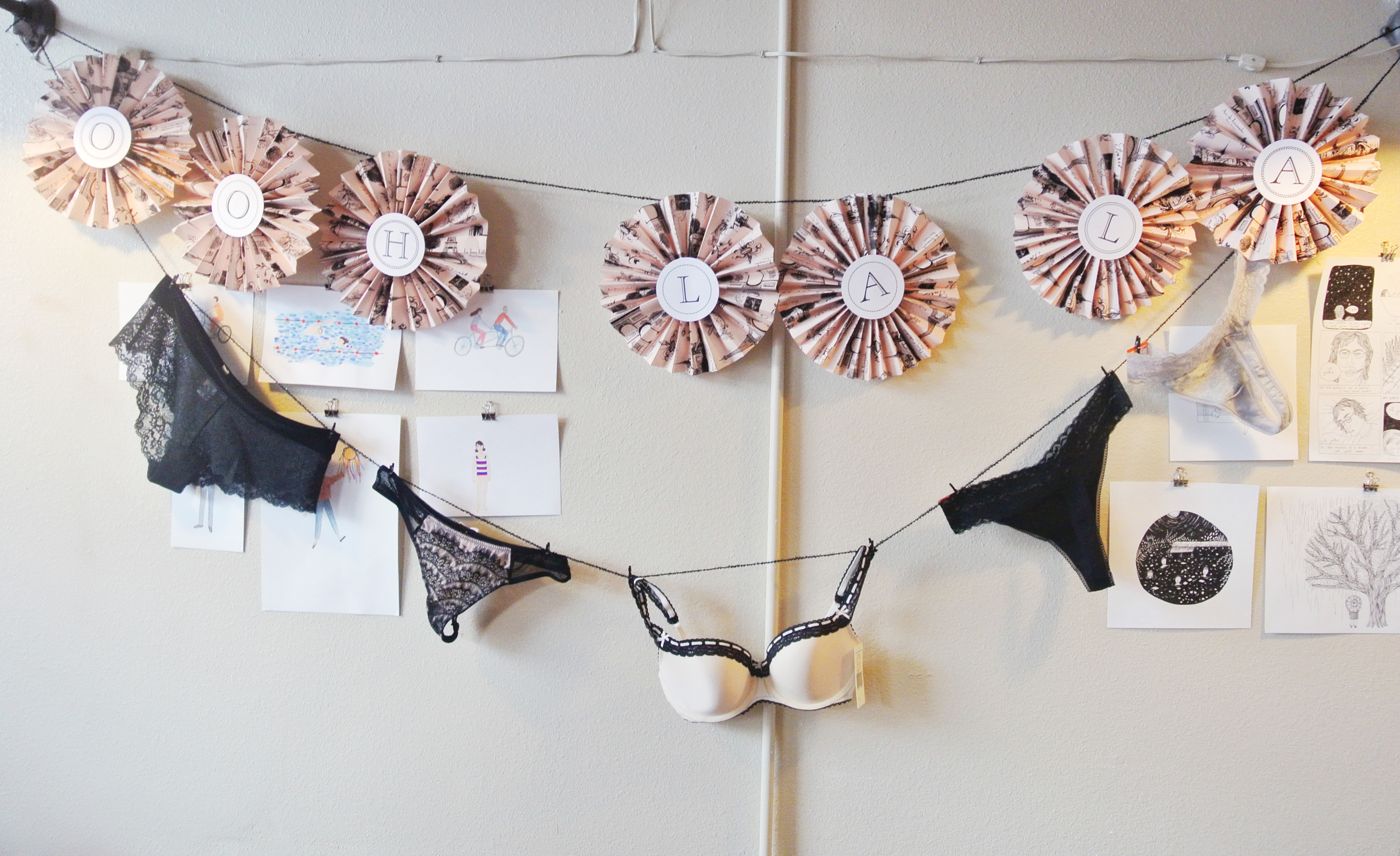 lingerie bridal shower theme