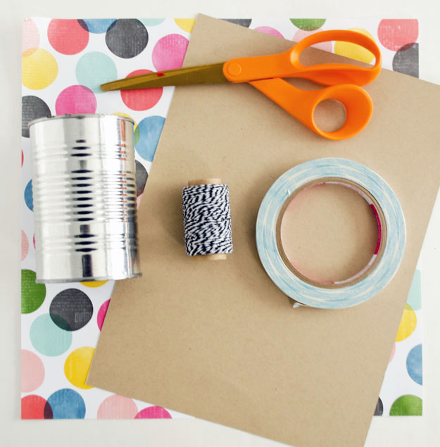 Materials for easy diy housewarming gift