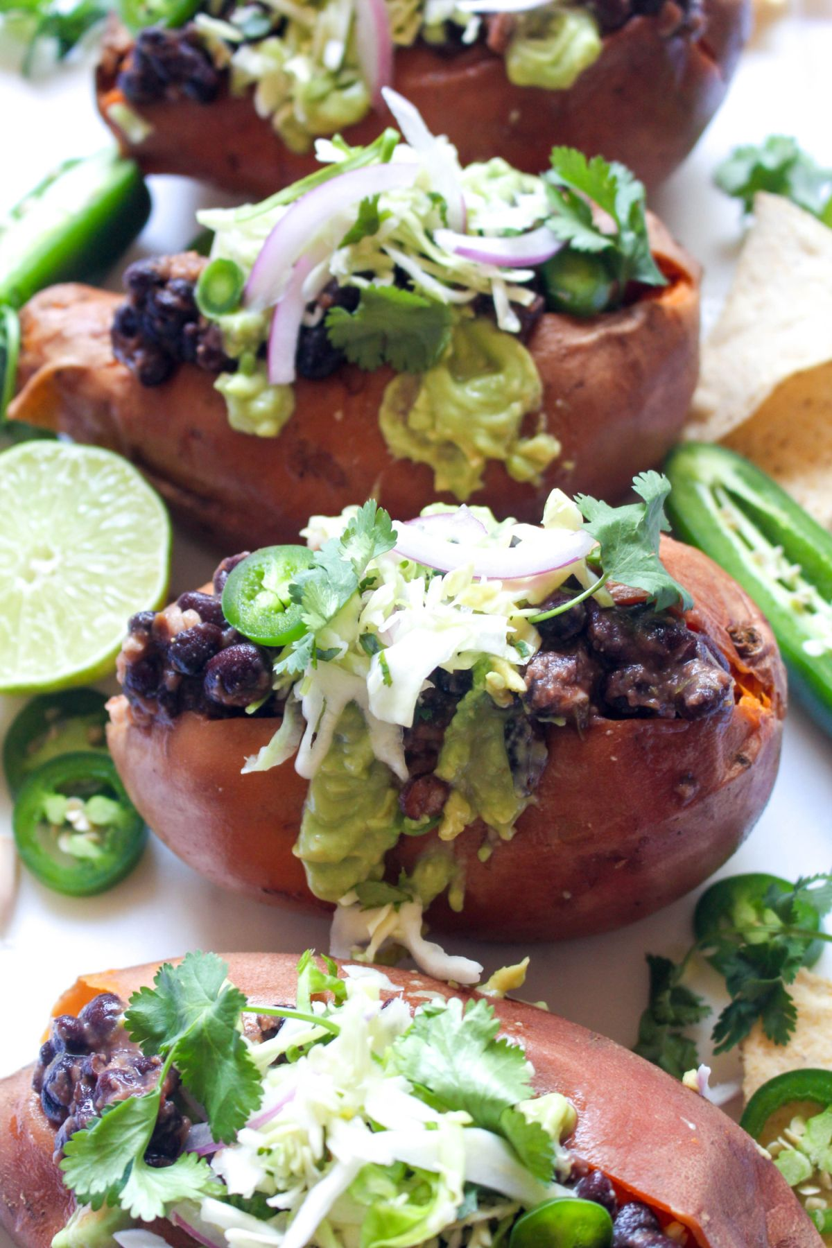 Mexican stuffed sweet potatoes recipe