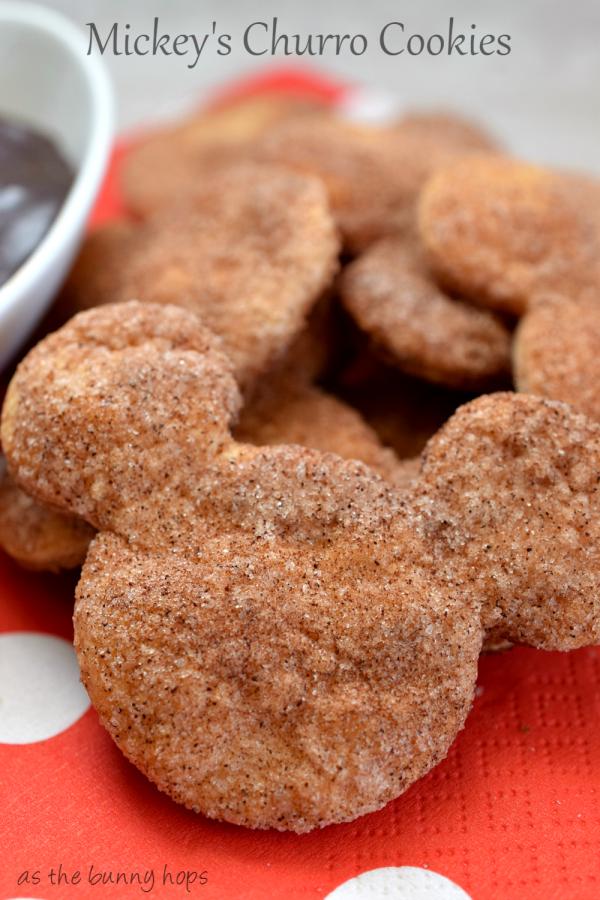 Mickeys churro cookies