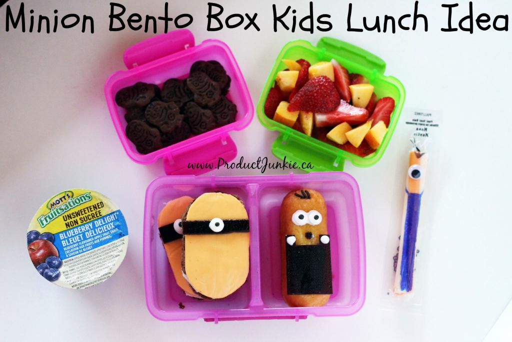 Minion themed bento box