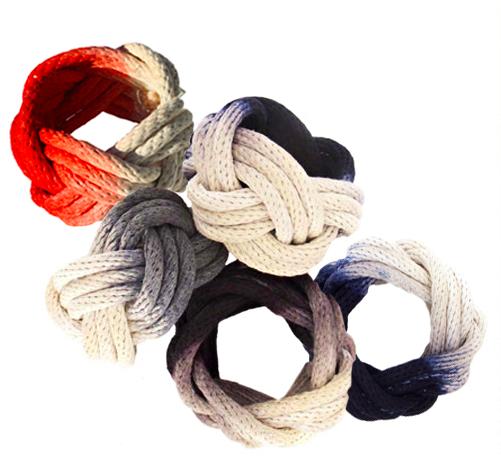 Ombre rope bracelet diy