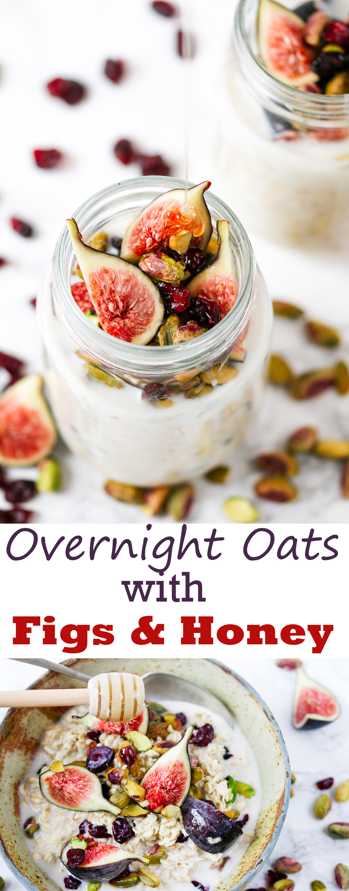 Fruit and Nut Overnight Oats - A hearty-yet-healthy breakfast you can make ahead!