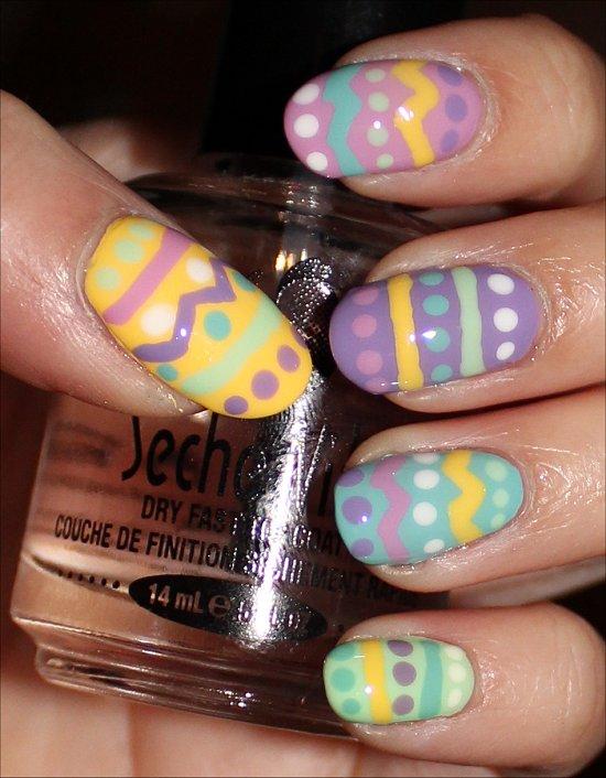 Pastel easter patterns