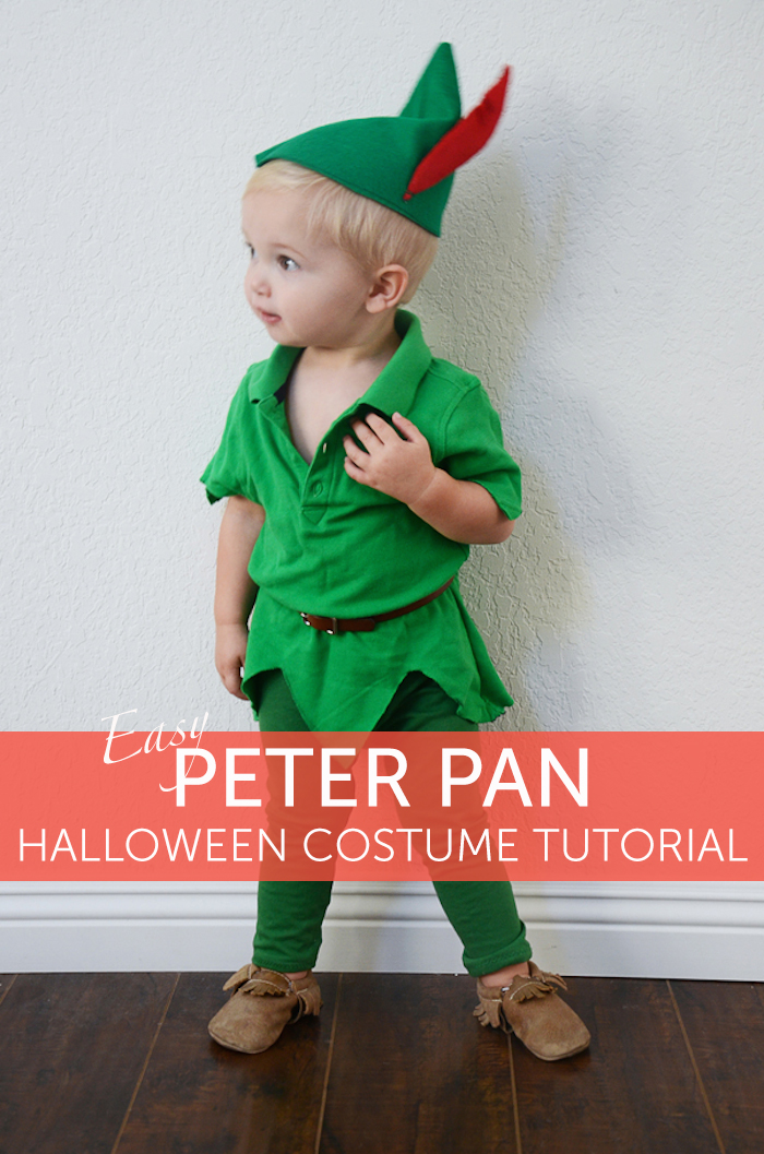 Peter pan diy costume