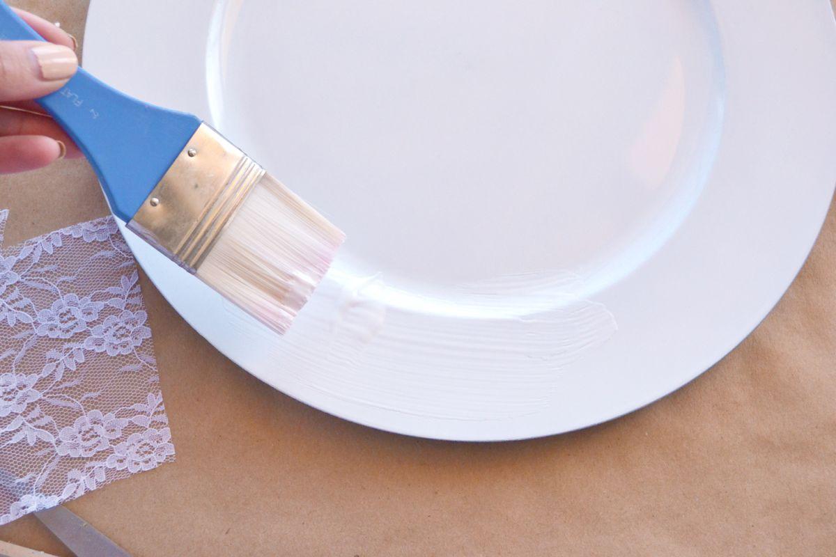 Prepare the plate