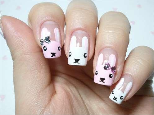 Rhinestone bunnies