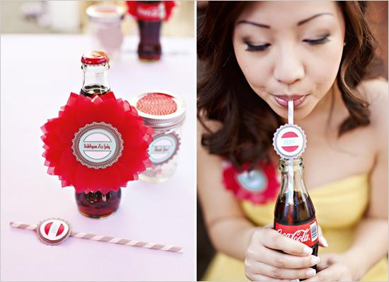 Soda pop shop bridal shower theme