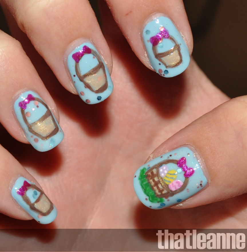 easter nail art easter nails and how to 31677