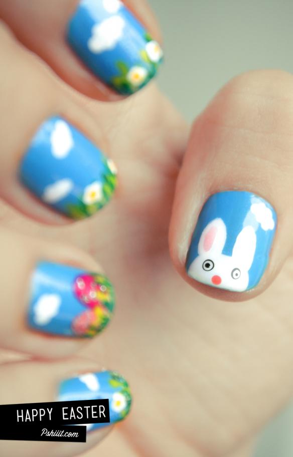 Spring sky bunnies