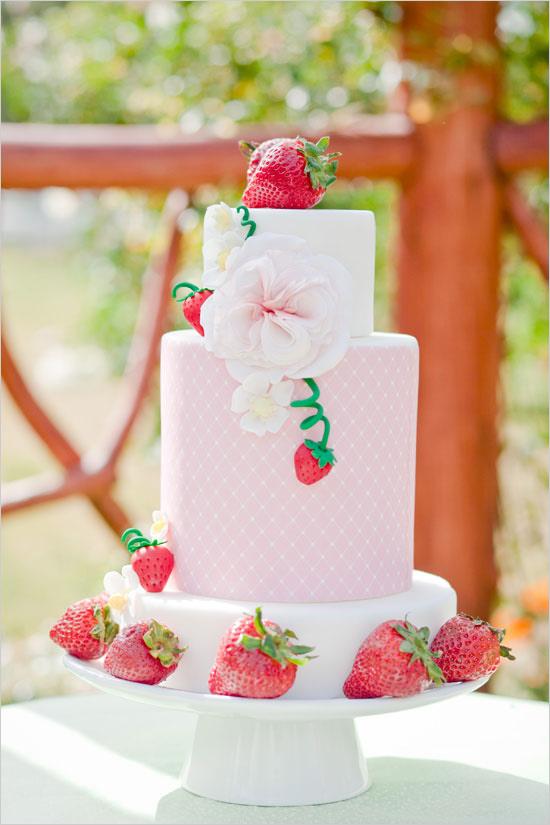 Strawberry bridal shower