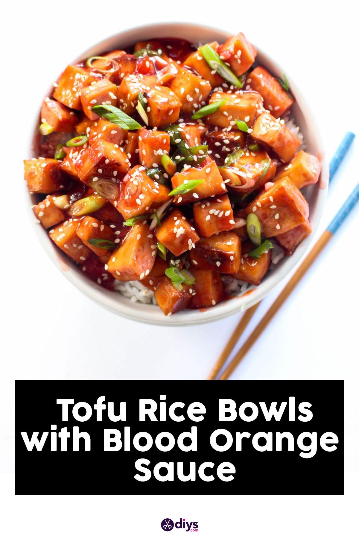 Tofu rice bowls