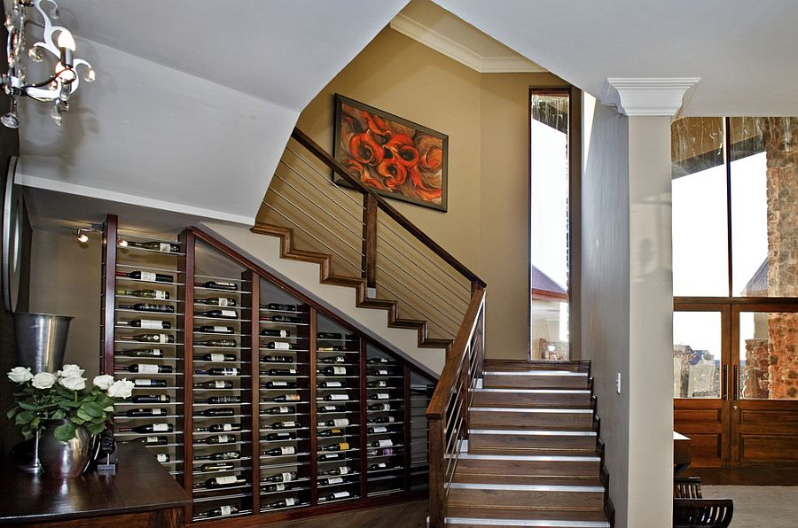 Wine Storage Understairs