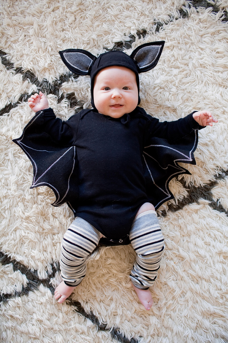 Baby bat costume  sc 1 st  DIYS.com & Check Out These 50 Creative Baby Costumes For All Kinds of Events!
