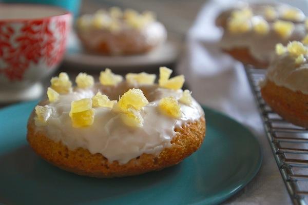 bakedgingerglazeddoughnuts