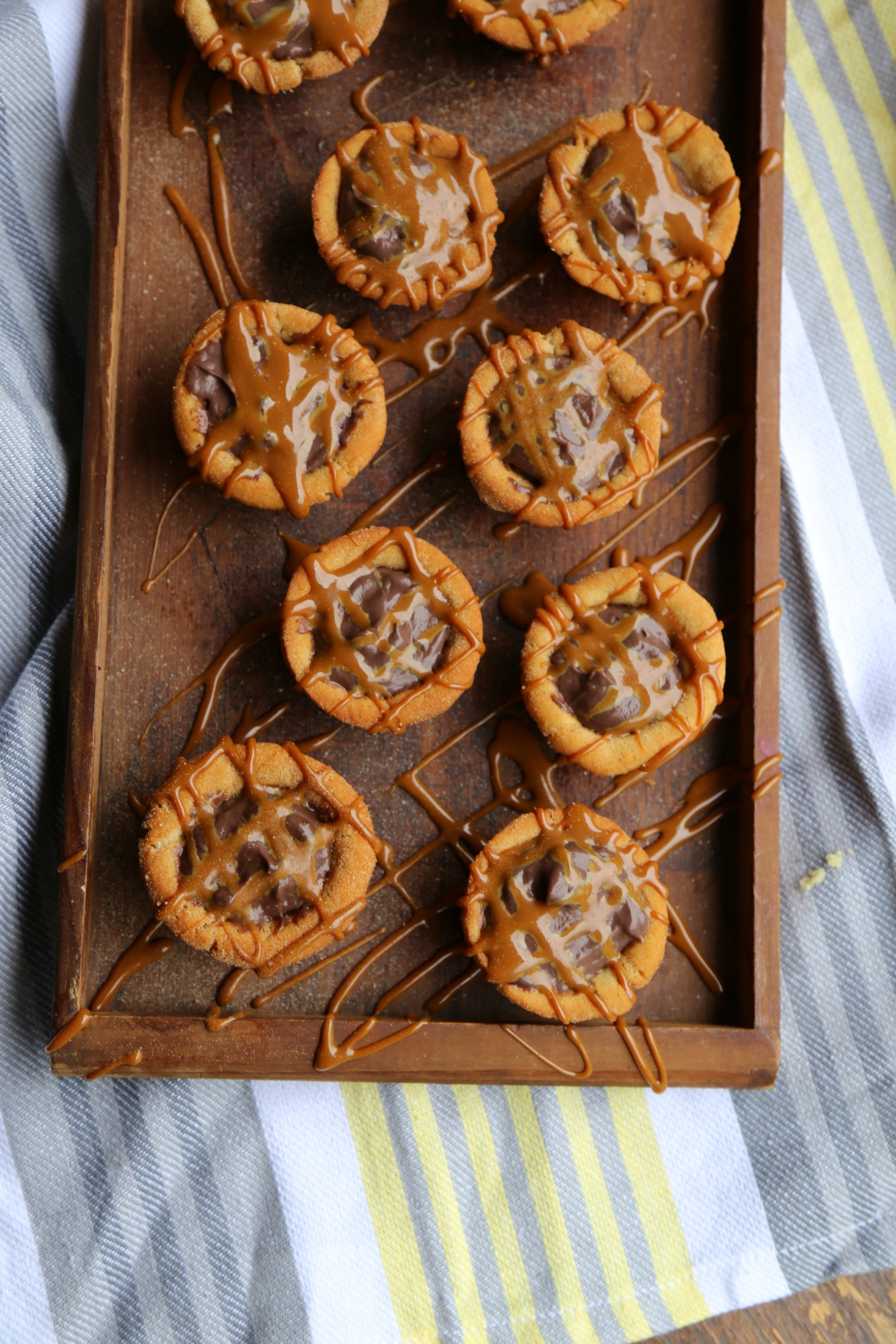 Chocolate churro cookie cups recipe vianneyrodriguez sweetlifebake