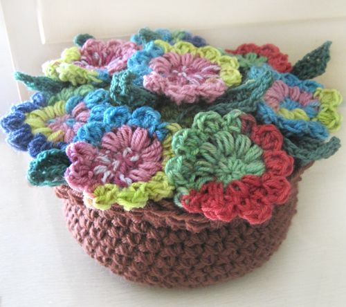 Crocheted Flowers That Will Bring Your Room To Life