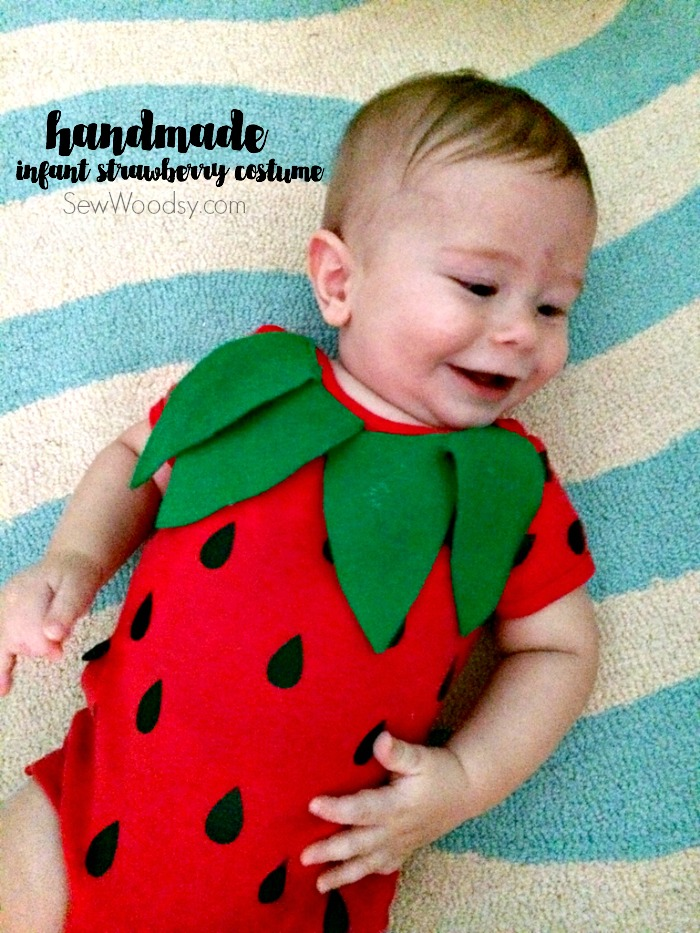 Diy infant strawberry costume  sc 1 st  DIYS.com & Check Out These 50 Creative Baby Costumes For All Kinds of Events!