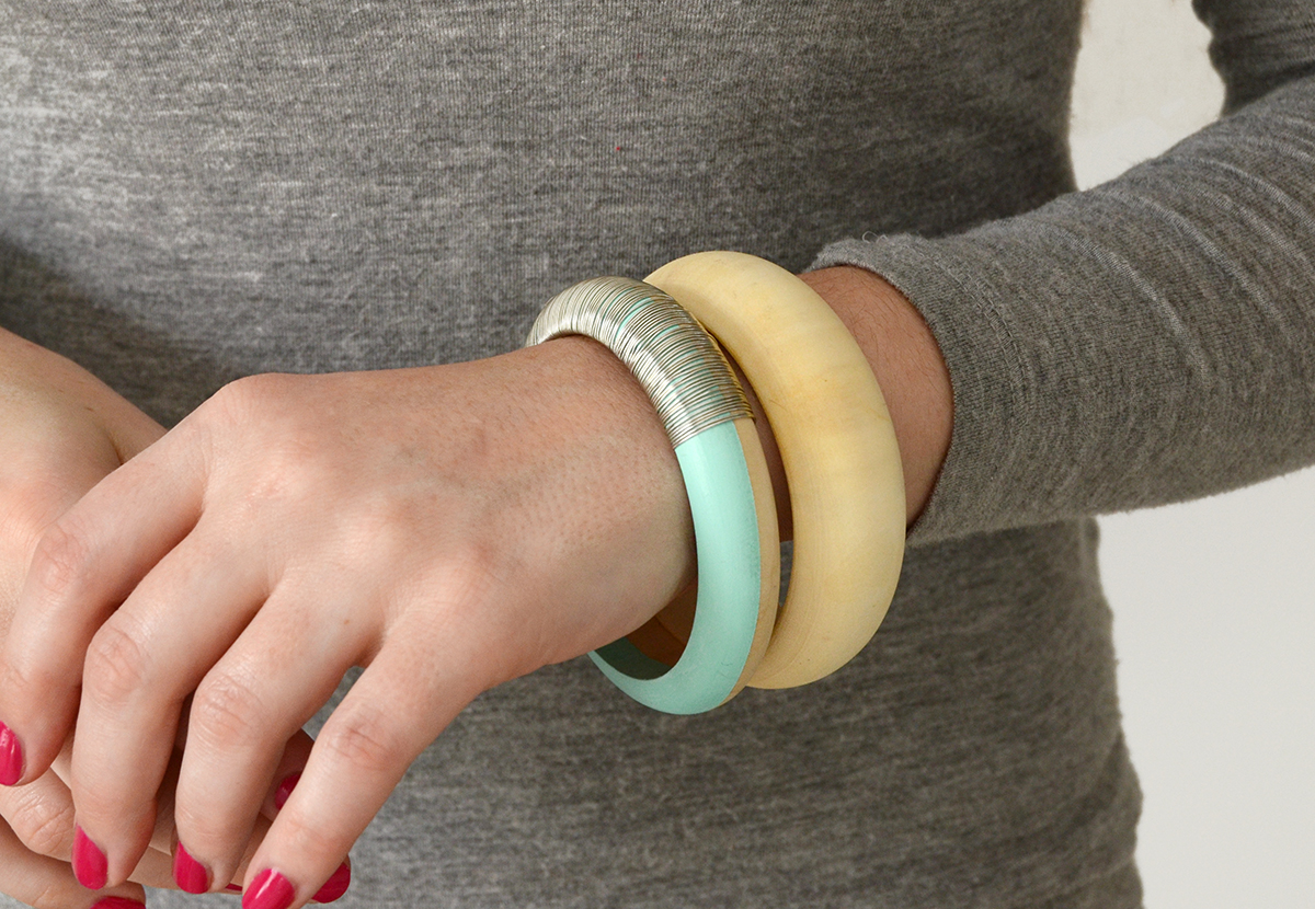 Diy wooden bangle bracelet 9