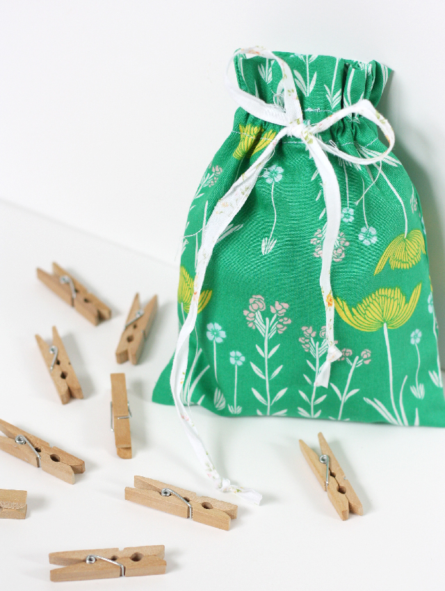 Drawstring bag diy