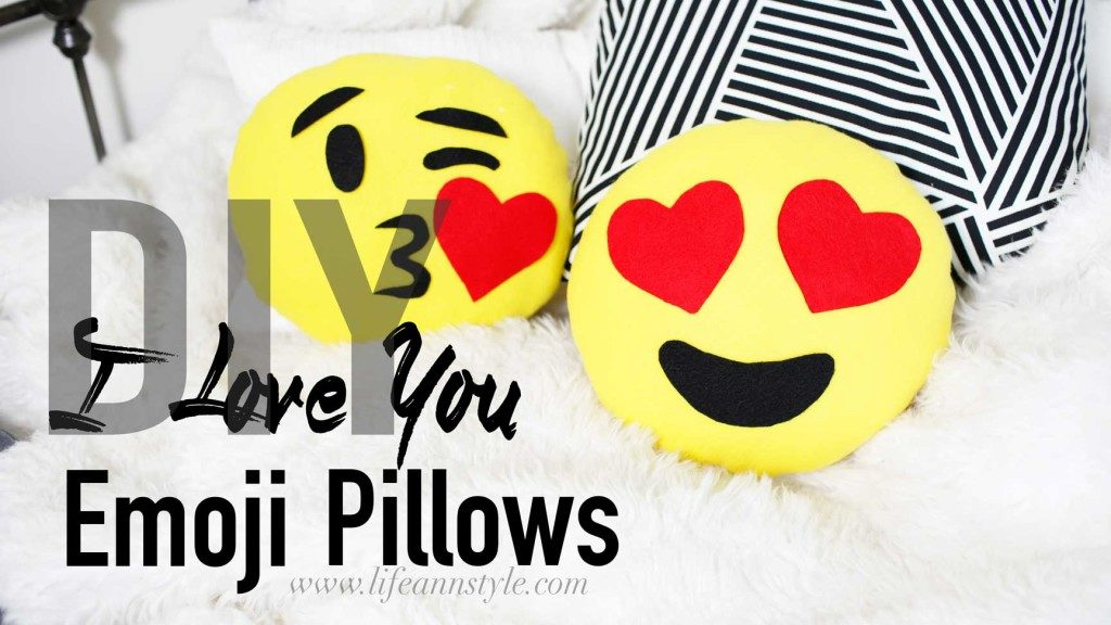 Emjoi pillows