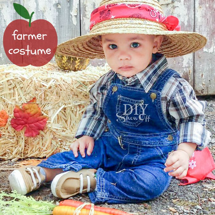 Farmer diy costume