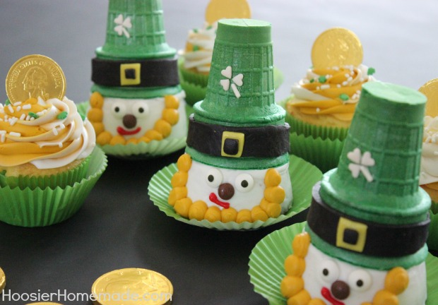 Ice cream cone leprechauns
