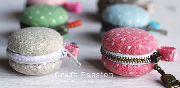Macaron purse