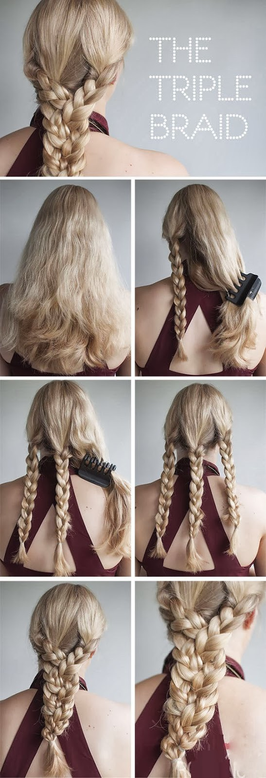triple braid diy