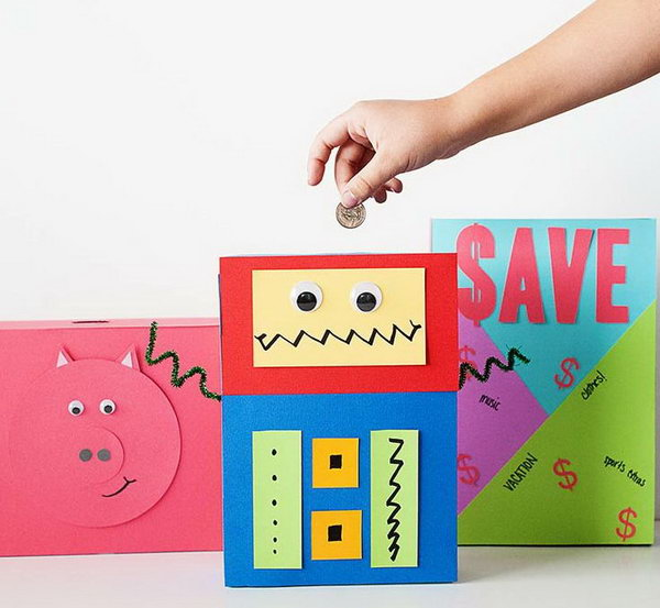 Diy piggy banks that will help you save for Piggy bank ideas diy