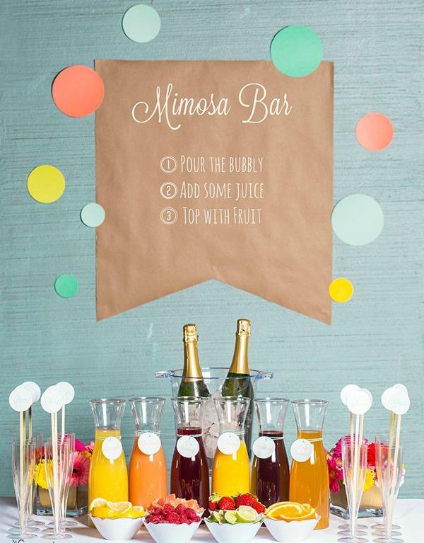 10 mimosa bar