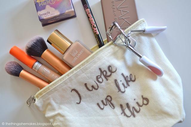 12 gold sharpie slogan bag