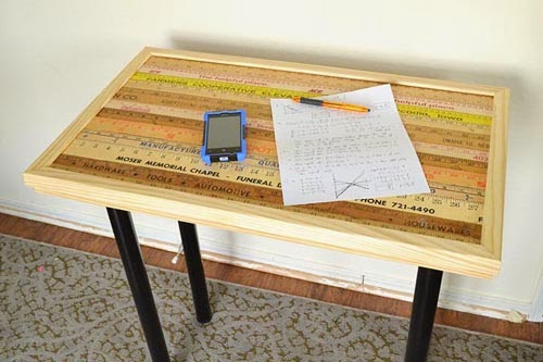 13 yard stick desk