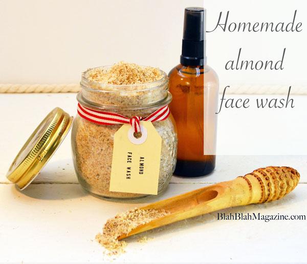 15 homemade almond face scrub