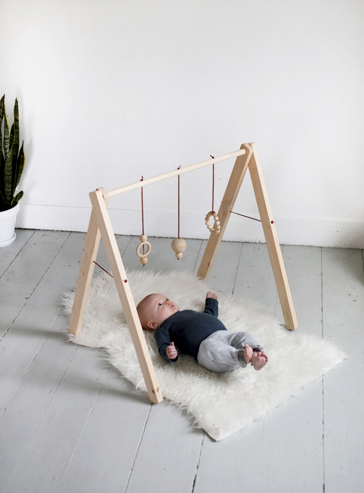 18 wooden baby gym diy