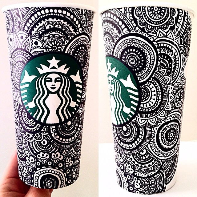 21 sharpie starbucks mugs