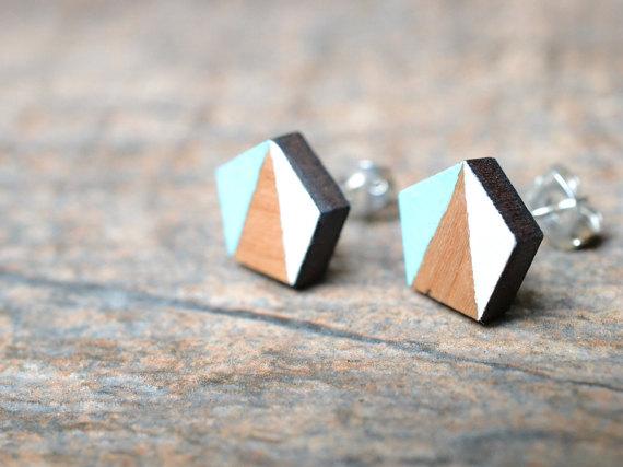 23 wood laser cut earrings