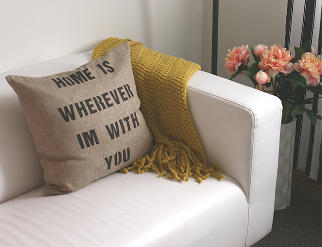 25 sharpie quote pillow