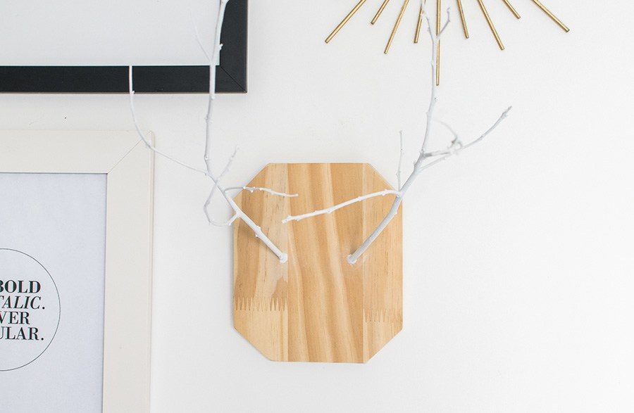 29 moose head with branches