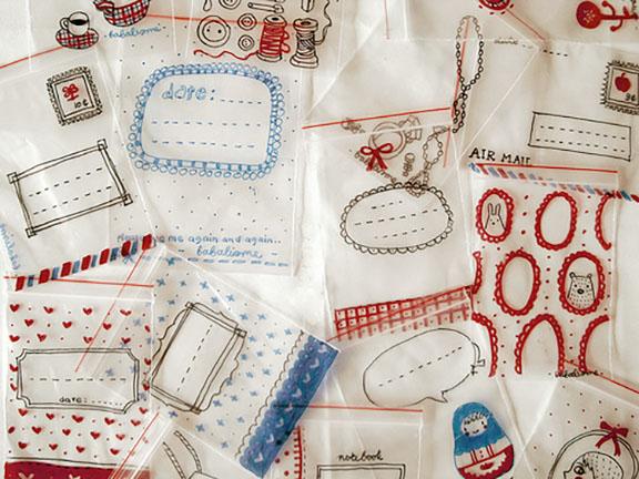 29 sharpie clear ziploc bags