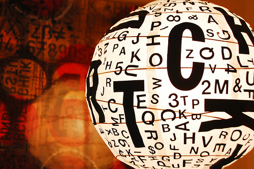 33 letter paper lantern diy