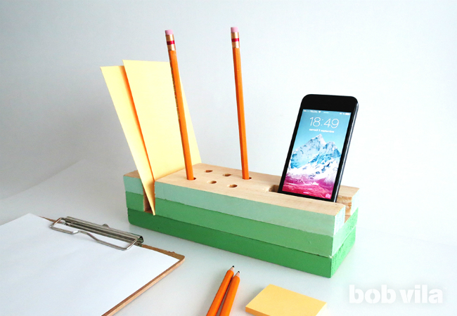 37 diy desk organizer wood