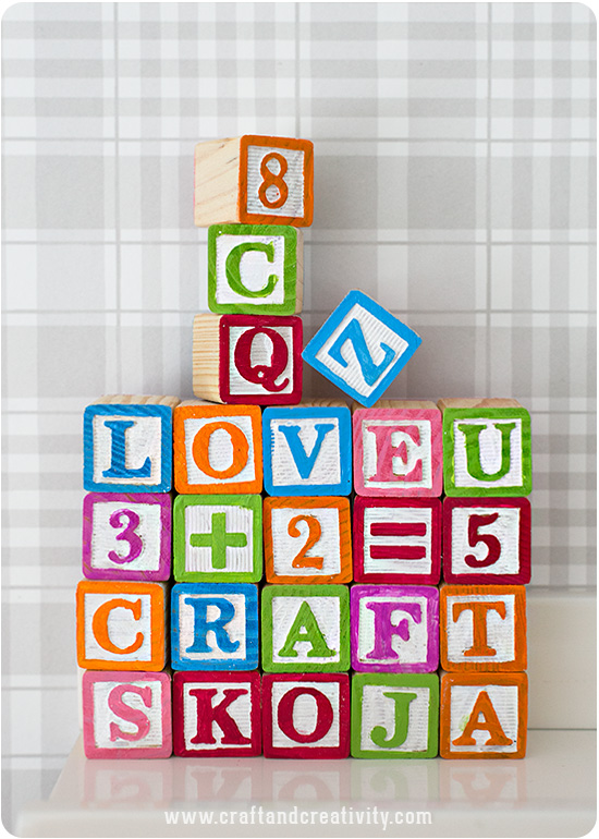 37 diy childrens blocks