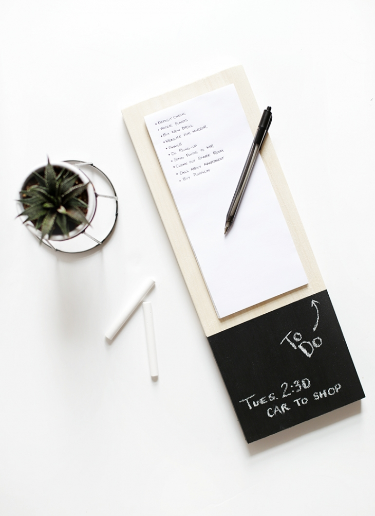 47 wood notepad to do list