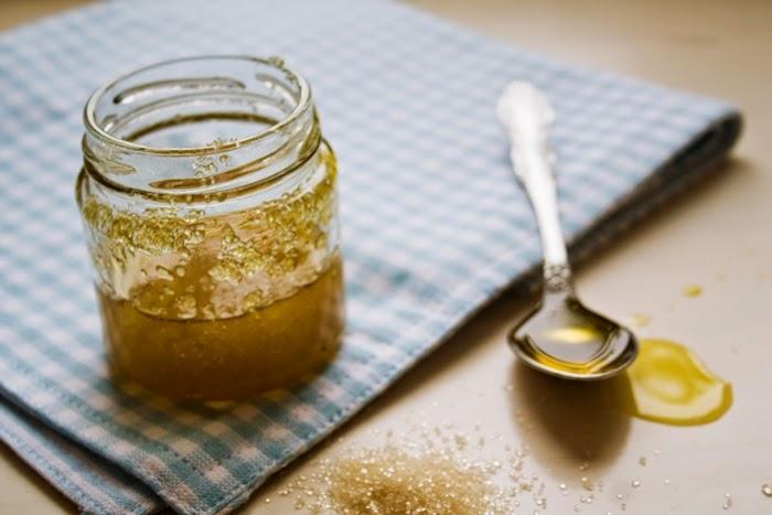 8 brown sugar honey scrub